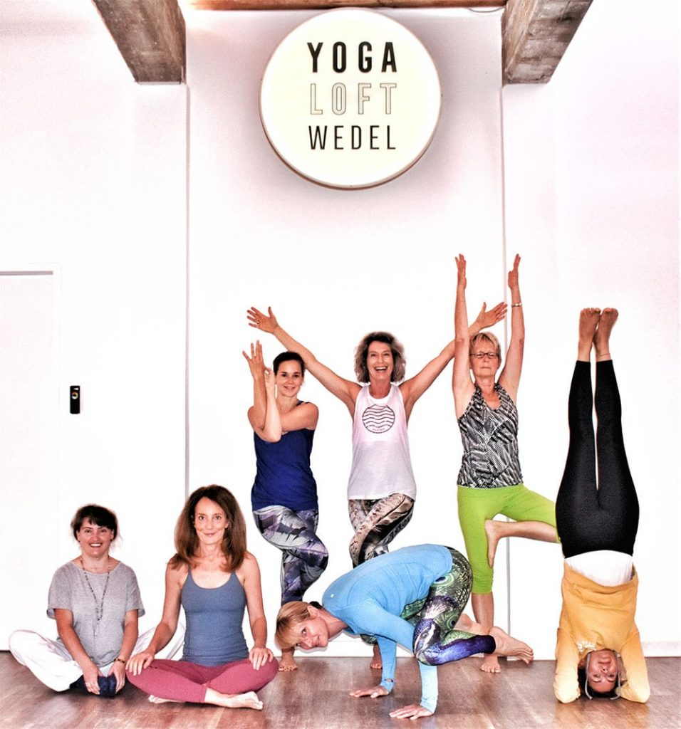 Yoga Loft Students