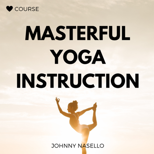 Yoga Instruction Online Course