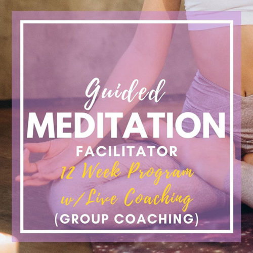 Guided Meditation Facilitator