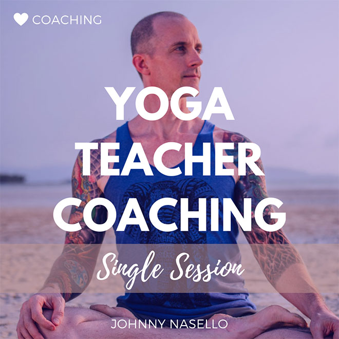Private Yoga Teacher Coaching