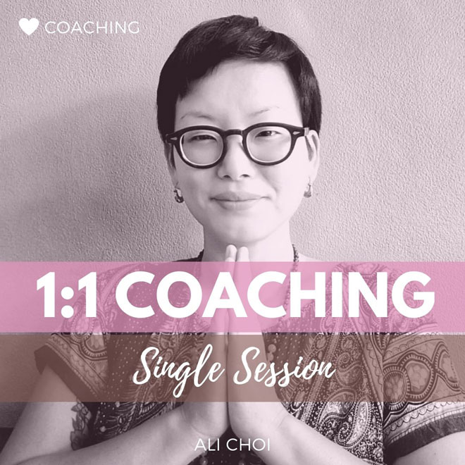 One-on-One Coaching Ali Choi