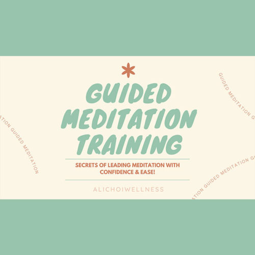 Guided Meditation Training